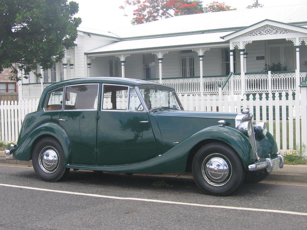 1951 Triumph Renown Luxury In A Razor Edge Body With