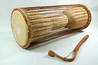 Talking Drum (Dondo, Dundun)-West Africa | by kevyn1914