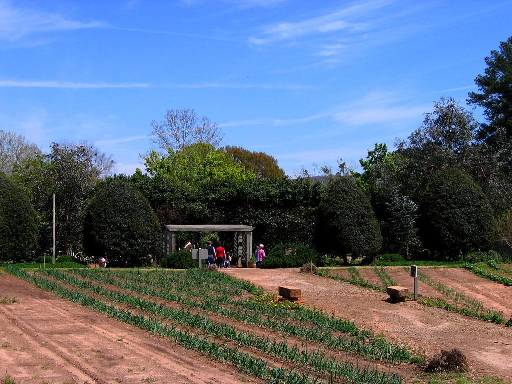 Vegetable garden pictures - Around The Vegetable Garden At Georgia S Callaway Gardens Flickr