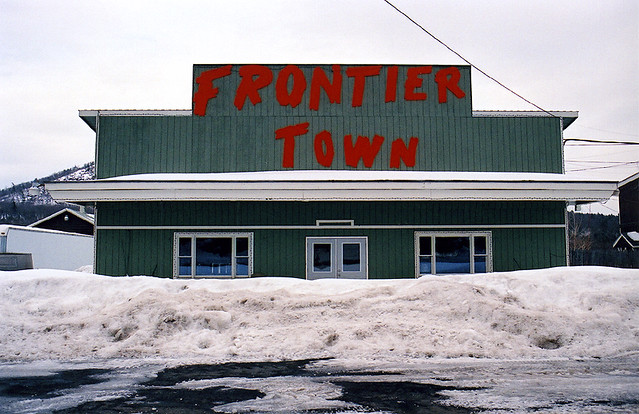 frontier town text