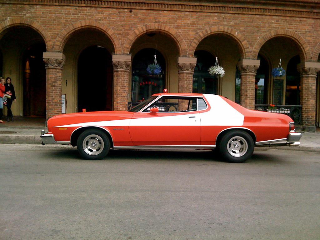 New Ford Gran Torino >> Ford Gran Torino : Starsky & Hutch | Spotted down town ...