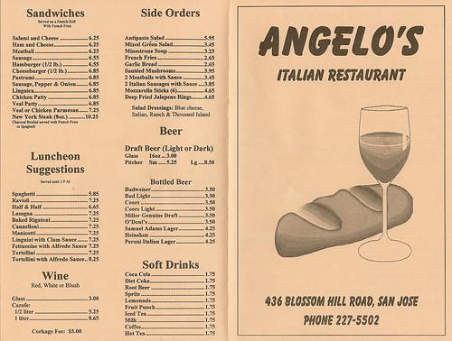 Angelo S Restaurant Toronto