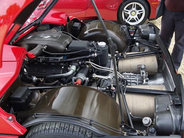 Ferrari F50 Super Car Engine 1995 Ferrari F50 Super Car Flickr