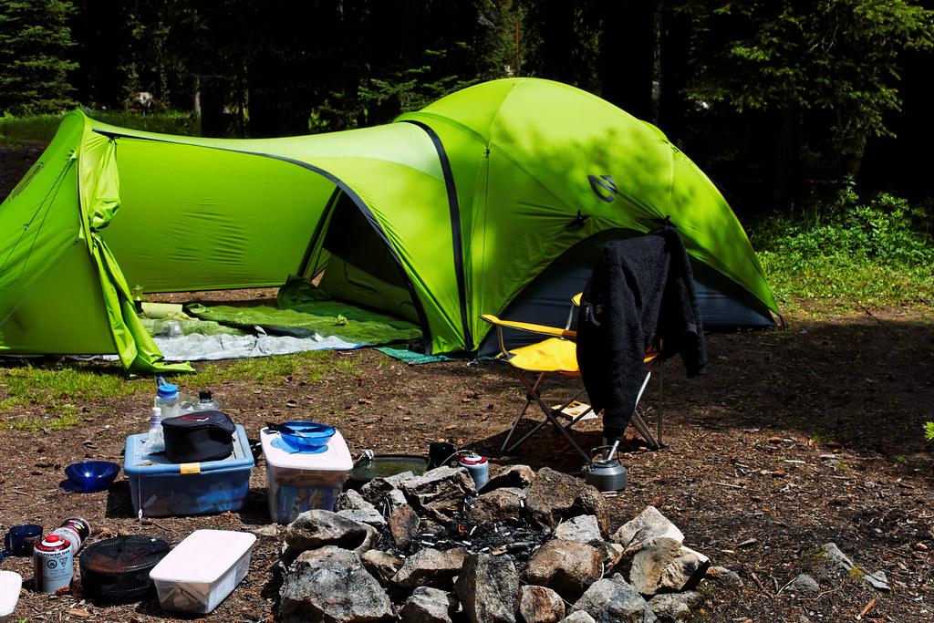 Nemo Asashi Tent With Garage Vestibule A Four Person