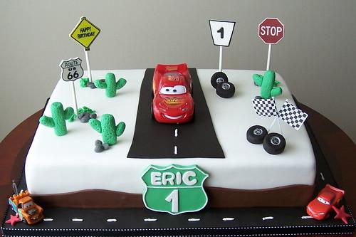 Lightning McQueen Cake Flickr - Photo Sharing!