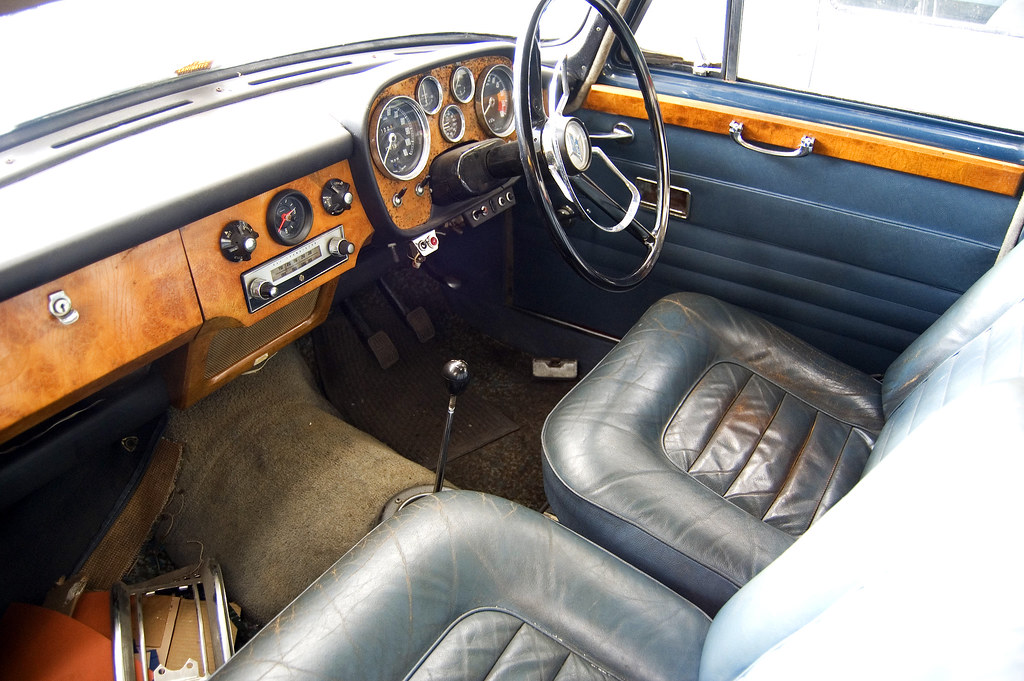 leather and wood car interior riley 4 72 farina styled flickr. Black Bedroom Furniture Sets. Home Design Ideas