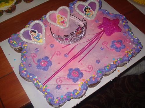 Disney Princess Cupcake Cake Www Charleyandthecakefactory