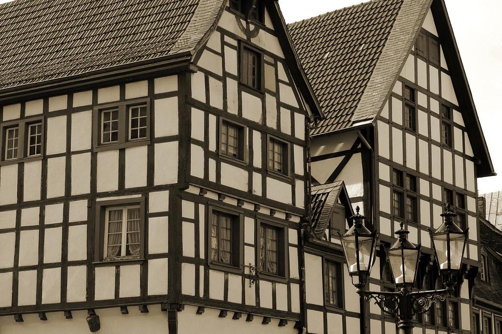 bad m nstereifel germany half timbered houses the sloga flickr. Black Bedroom Furniture Sets. Home Design Ideas