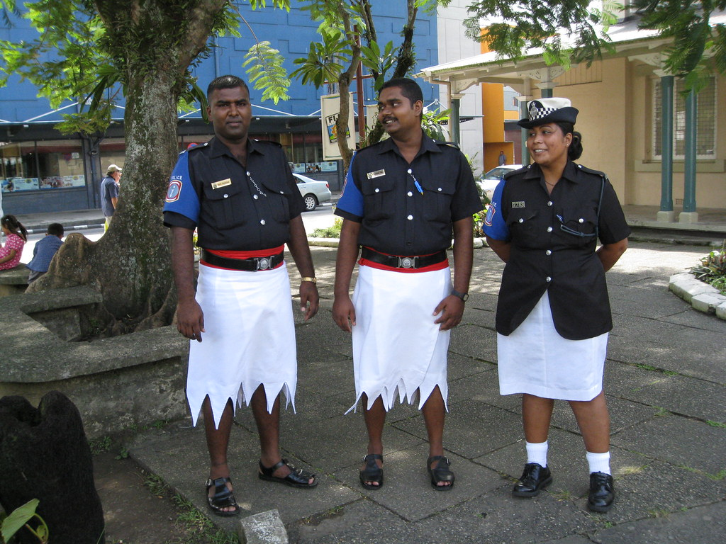 Fijian Police These Three Officers Were Kind Enough To