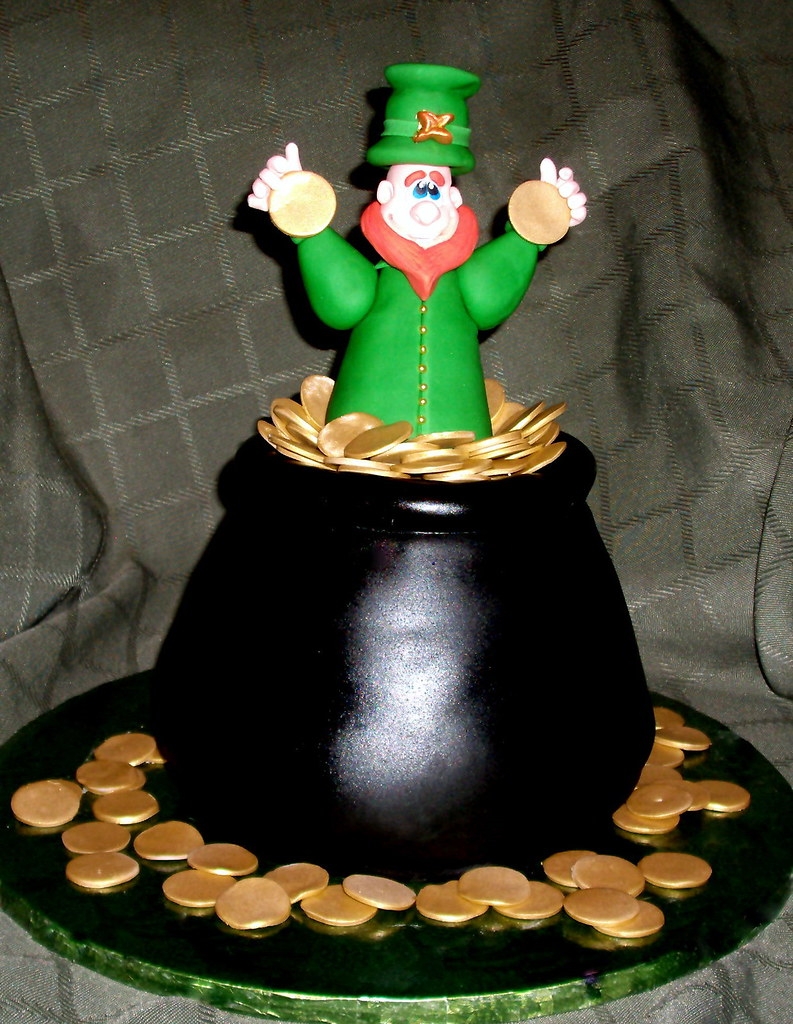 Leprechaun Cake For St Patrick S Day What A Fun Cake