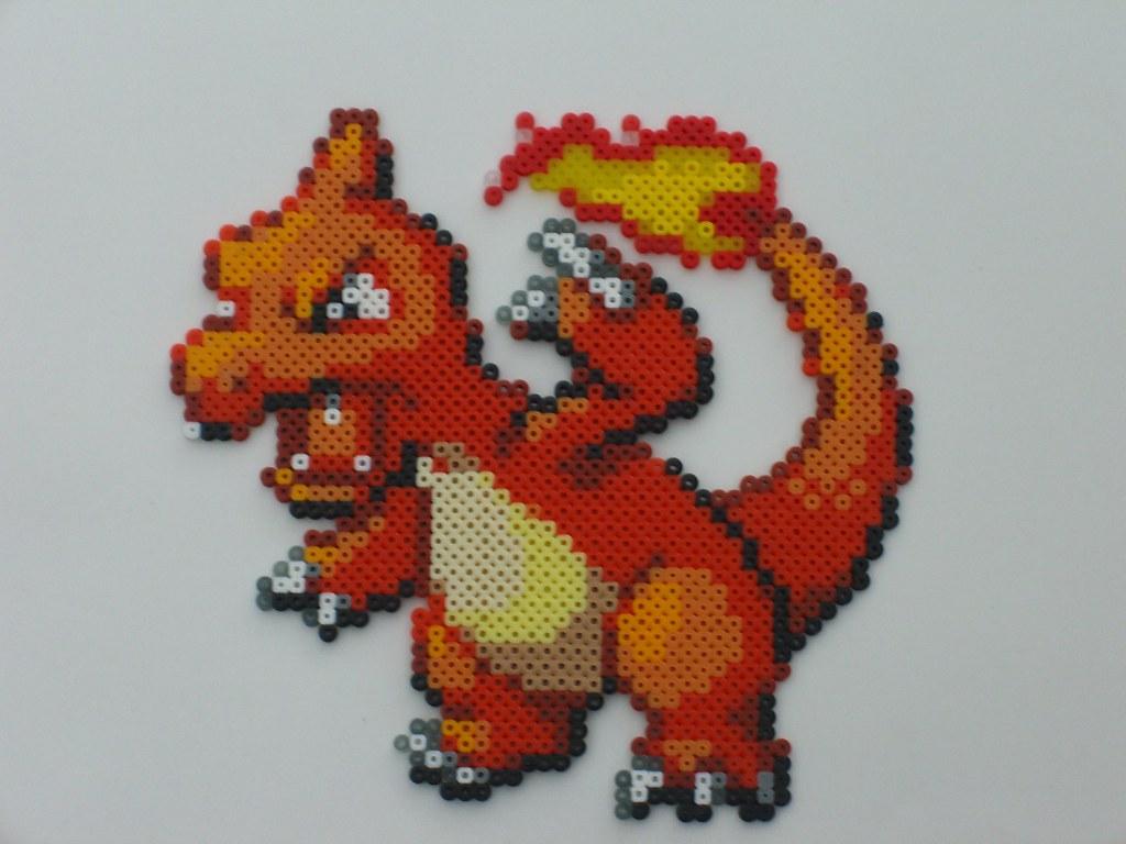 Charmeleon Bead Sprite Charmeleon From Pokemon Ruby Sapphi Flickr