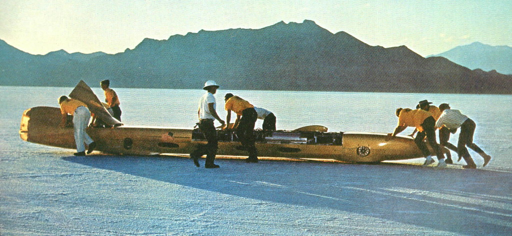 Summers Brothers Goldenrod At Bonneville 1965 The