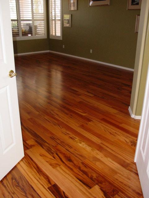 Tigerwood Hardwood Floor 1400 Sf Armstrong Hartco