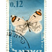 Israel Postage Stamp: Butterfly