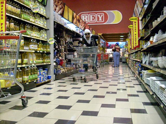 Supermercado Rey Uno De Los Locales Del Supermercado Rey