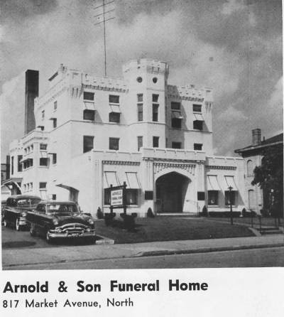 Arnold Funeral Home 1950s 37 This Was The Home Of The