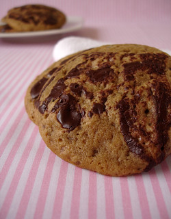 Butterscotch marble blondie drops / Cookies marmorizados | by Patricia Scarpin