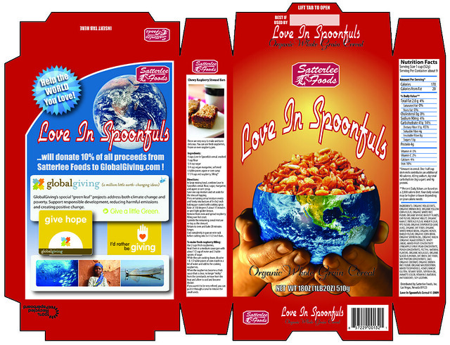 Cereal box cereal box design for becky 39 s school project for Cereal box project for school
