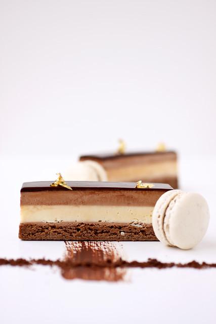 milk chocolate and passion fruit cream bars   recipe on ...