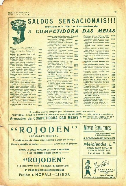 Modas e Bordados, No. 1617, February 1943 - 22