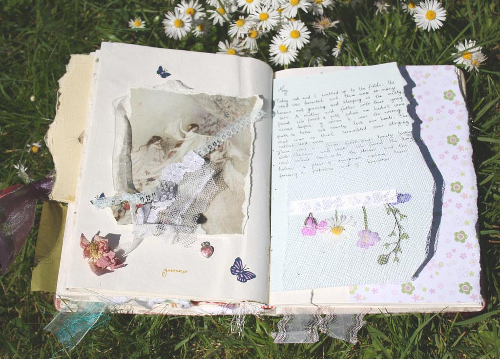 Как сделать свой дневник для девочек своими руками из тетради фото