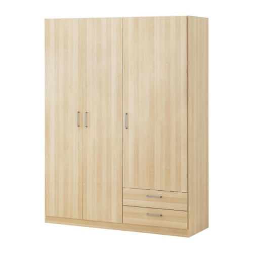 ikea kullen wardrobe 95 this wardrobe was purchased. Black Bedroom Furniture Sets. Home Design Ideas