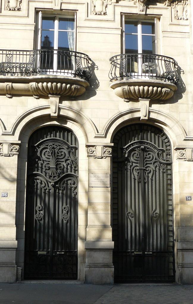 paris boulevard raspail portes et balcons en fer flickr. Black Bedroom Furniture Sets. Home Design Ideas
