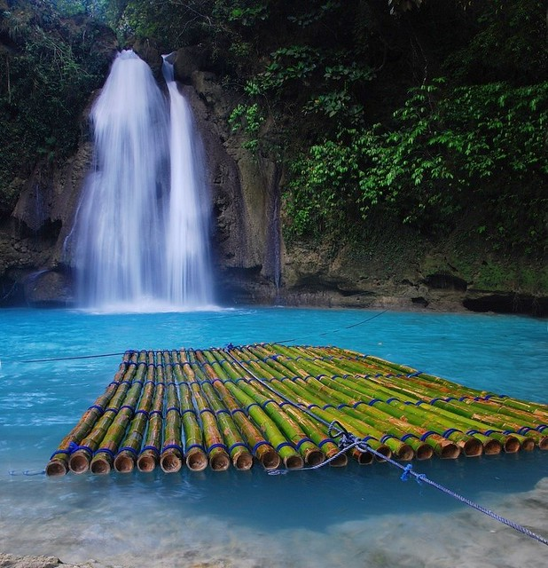 Kawasan Falls Cebu Very Nice Tourist Spot In Cebu Where Y Flickr