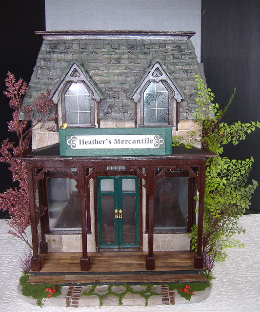 Tracy Topps Greenleaf Brimbles Mercantile Dollhouse Kit