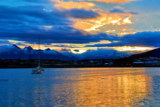 Ushuaia sunset | by miguelyn..