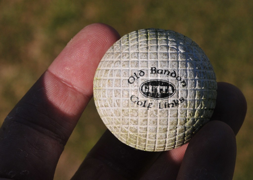 Gutta Percha Golf Ball Experienced Gutta Percha Ball