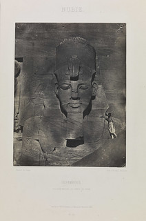 'Nubie, Ibsamboul, Colosse Médial du Spéos de Phré', (Nubia, Abu Simbel, middle colossus from the temple of Rameses II) | by National Media Museum