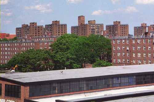 Housing Projects Queens Ny View From The Roof Of