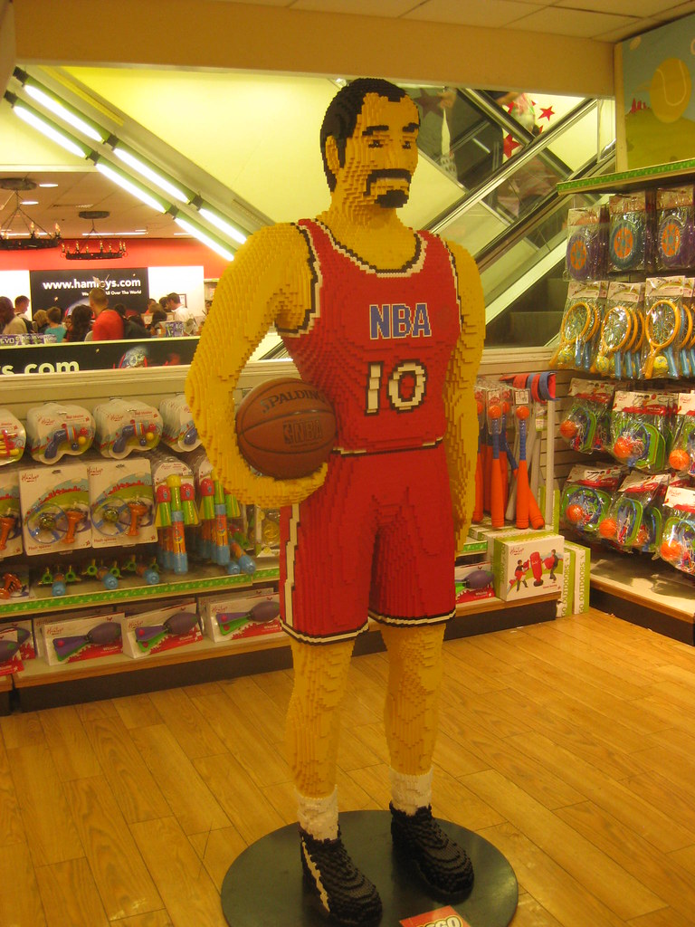 Hamleys Lego Basketball Player Matt Brown Flickr