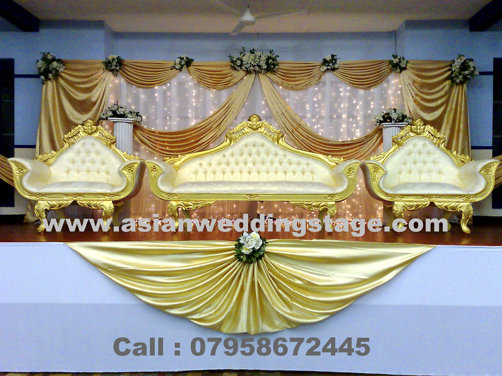 Wedding decorations we are quality asian wedding stage for Asian wedding stage decoration