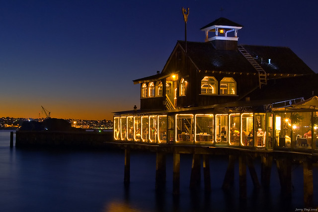 Captivating ... Harbor House Restaurant | By Jerry Ting