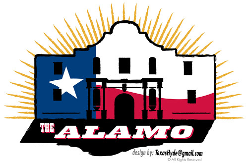 Contest Entry: Alamo Logo Design | When I heard that the ...