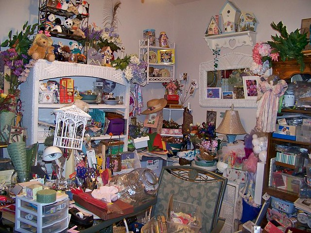 Image result for really messy craft room