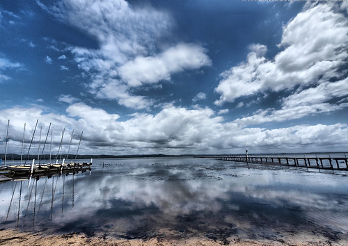 Long Jetty Cloud Reflection | by maureen_g