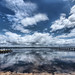 Long Jetty Cloud Reflection