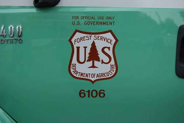 Usda Forest Service Anf Fire Truck Door Decal Flickr