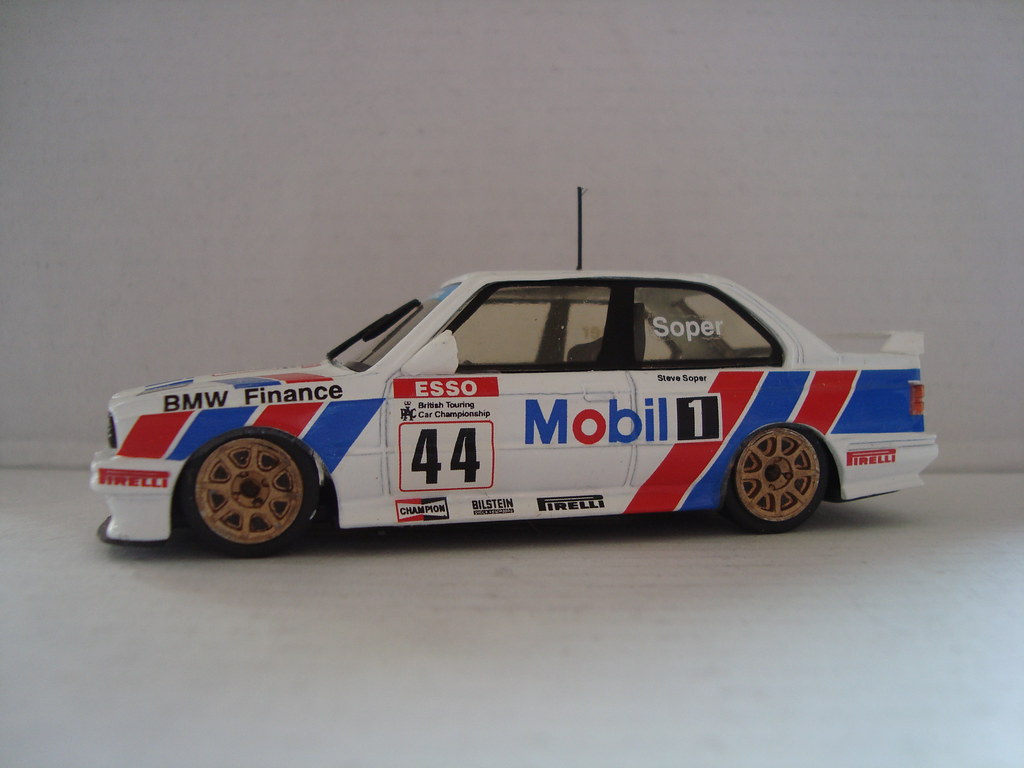 1991 BTCC - 44 - BMW - Soper | 1991 ESSO British Touring ...