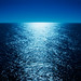 Moonlight Reflecting Across the Ocean