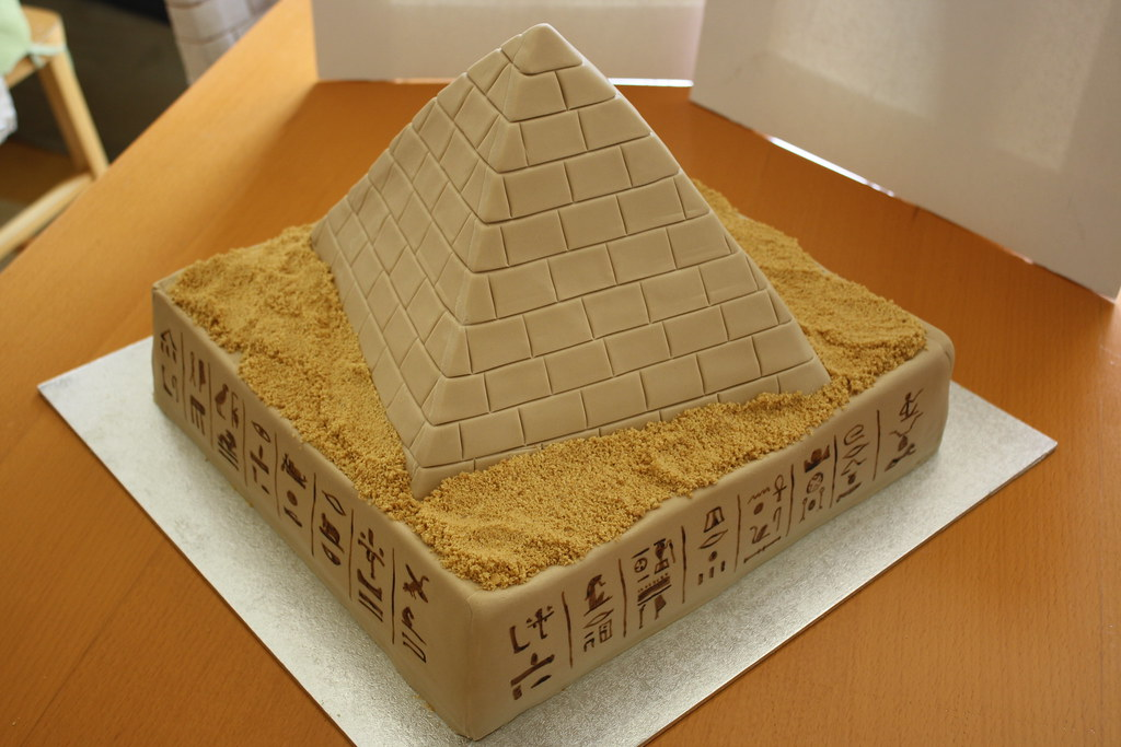 How To Make A Pyramid Cake