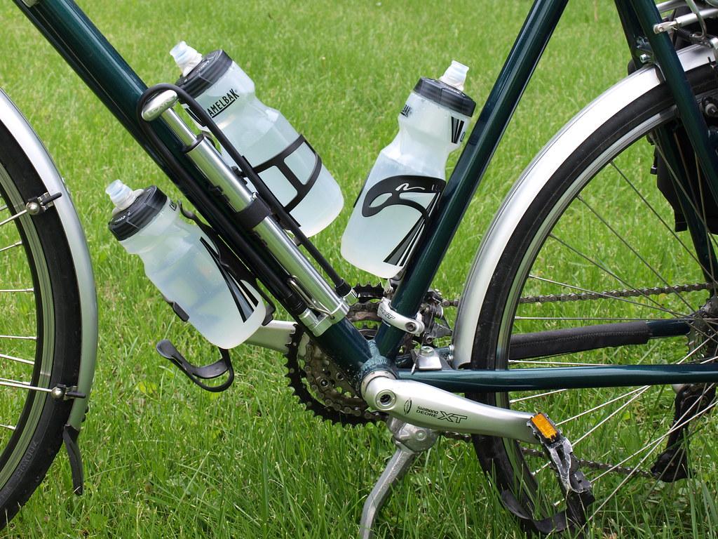 how to mount lezyne micro floor drive to bike
