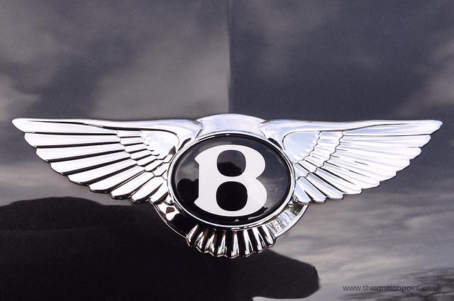Luxury Vehicles Logo: Bentley Continental GT Speed Emblem