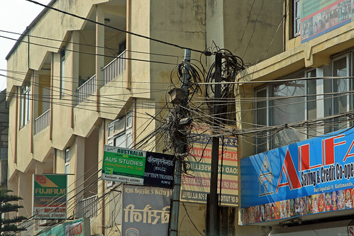 Power lines in Kathmandu | by World Bank Photo Collection