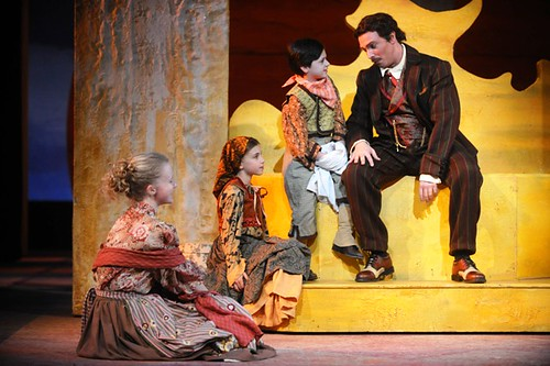 Figaro and town kids | by Opera Cleveland