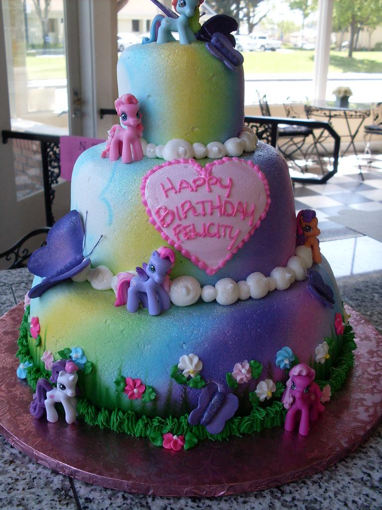 My Little Pony Cake Andrea Moreno Flickr