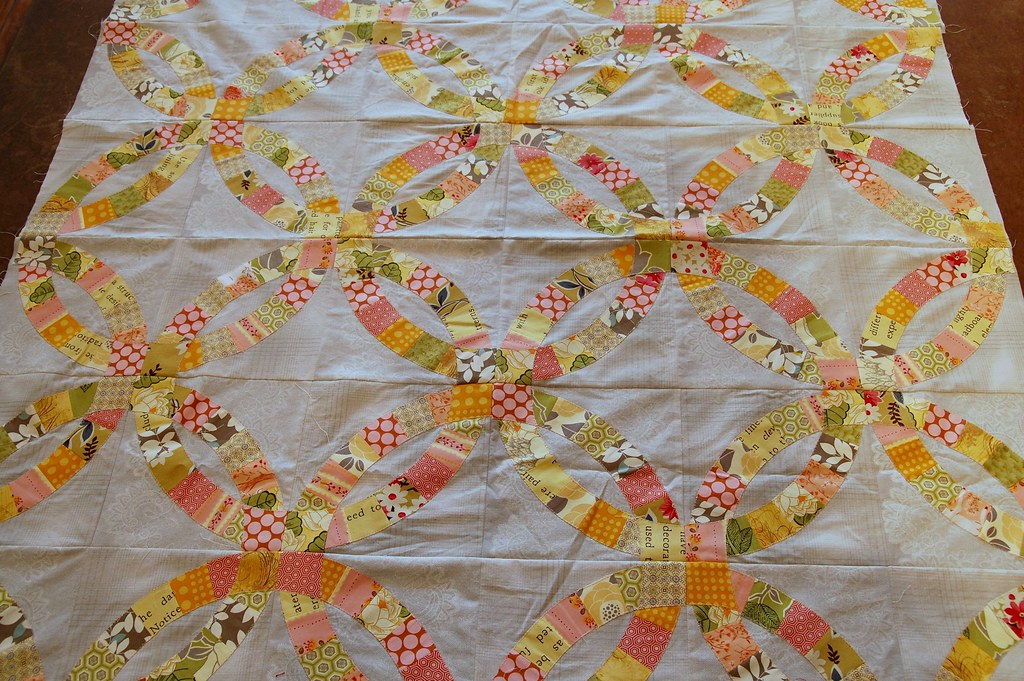 wedding ring quilts katherine s wedding ring quilt wedding 9980